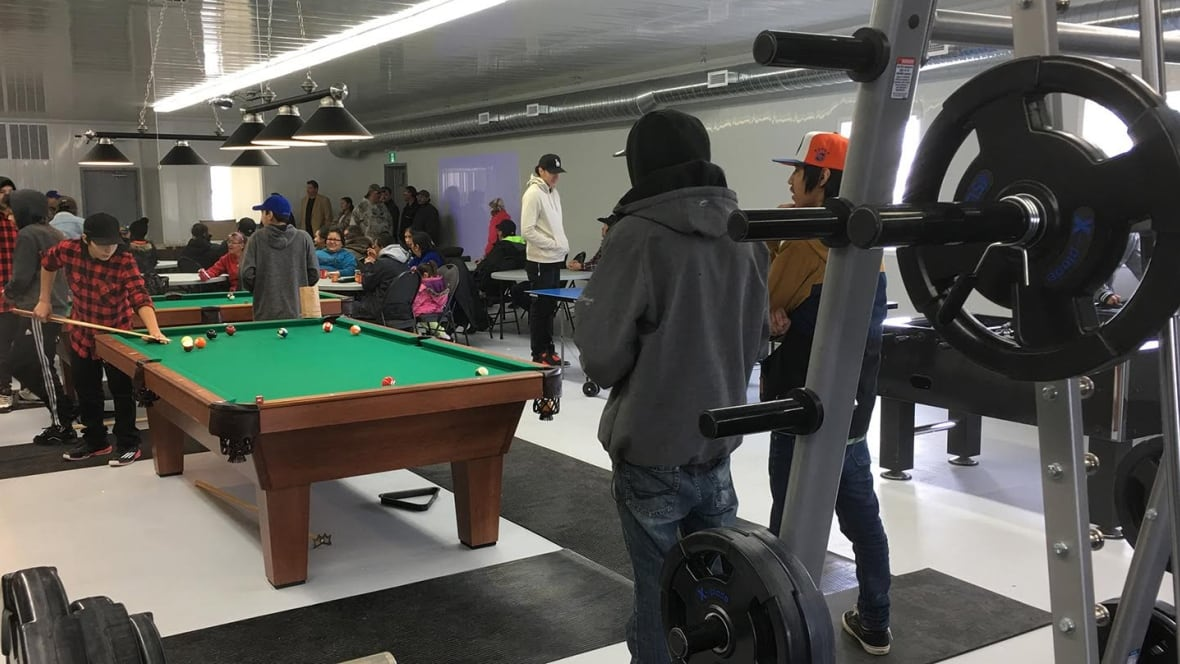 New Recreation Centre Brings Youth And Elders Together On