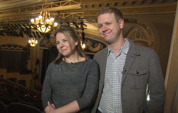 David Hein and Irene Carl Sankoff