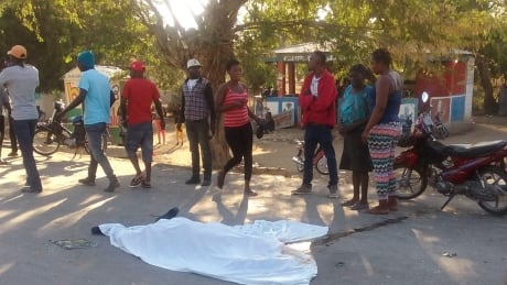At least 38 dead after Haitian bus driver crashes into parade crowd