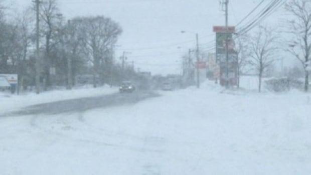 Charlottetown snow storm