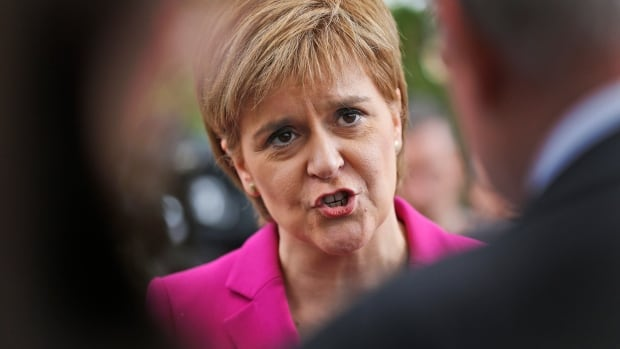 Scottish First Minster Nicola Sturgeon will seek authority to hold a new independence referendum in the next two years because she says Britain is dragging Scotland out of the European Union against its will.
