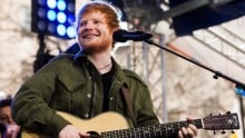 Ed Sheeran Performs on NBC's Today Show