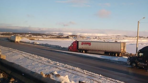 Mayor Todd Strickland says truckers who park their rigs across from Tim Hortons in Port aux Basques may be putting themselves at risk by walking across the highway to get coffee during peak traffic.