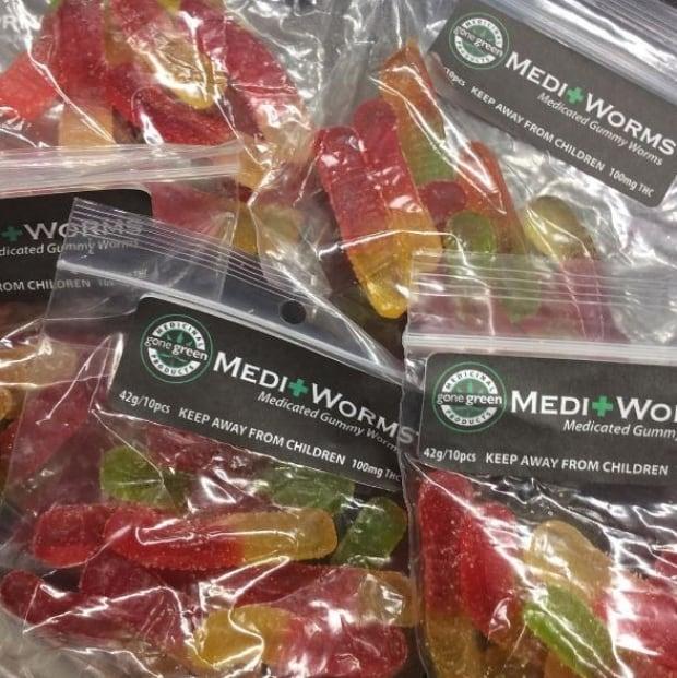 Gummy worms medical marijuana kitchener bust
