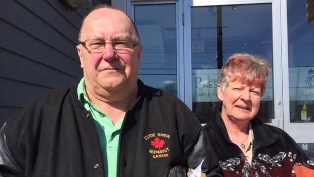 MIke and Jane Perry say their lives have been turned upside down by CNIB, which claims  Mike is responsible for $9,000 in missing funds.