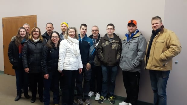 A group of volunteers from the Rehoboth United Reformed Church in Hamilton was denied entry to the U.S. on its way to spend March break rehabilitating neighbourhoods hit by Hurricane Sandy.