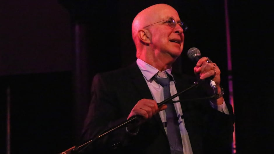 Musician Paul Shaffer served as the band leader on David Letterman's Late Show for many years.