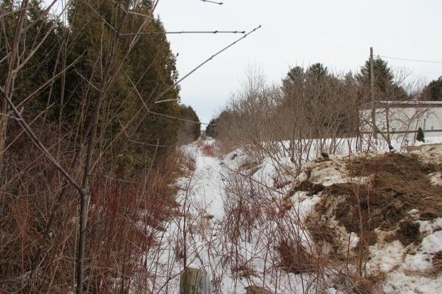 U.S.-Quebec border
