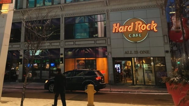 Hard Rock Cafe Montreal Canada