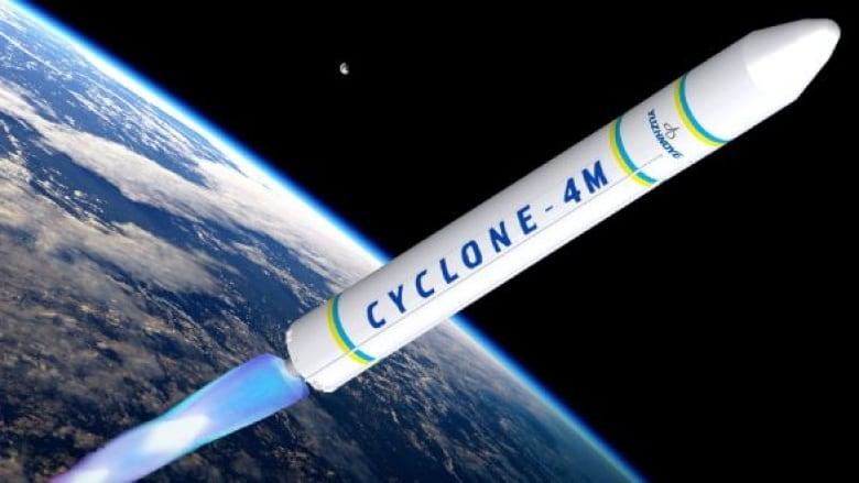 Maritime Launch Cyclone 4