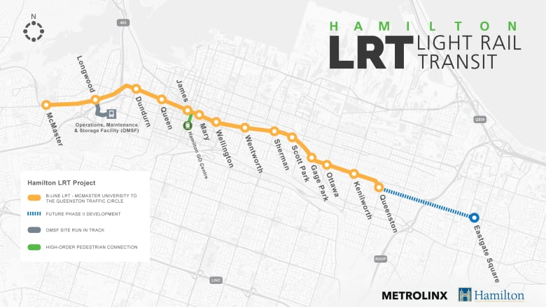Hamilton councillors about to cast a major vote on LRT's