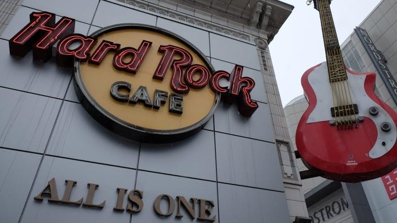Hard Rock Cafe Closing Toronto