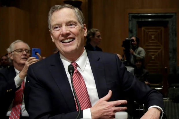 USA-CONGRESS/LIGHTHIZER