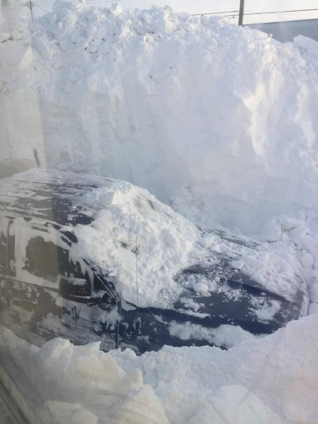 Vehicle Coral Harbour blizzard