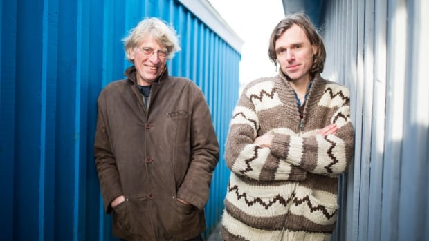 Joel Plaskett first played in Iqaluit in the fall of 2015. This summer, he returns with his father, Bill.