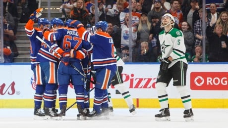 Oilers Rout Stars To Snap 3-game Skid (video)