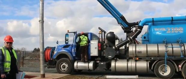 Halifax Water vacuum truck