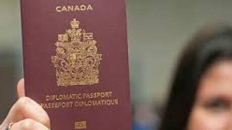 Canadian diplomatic passport