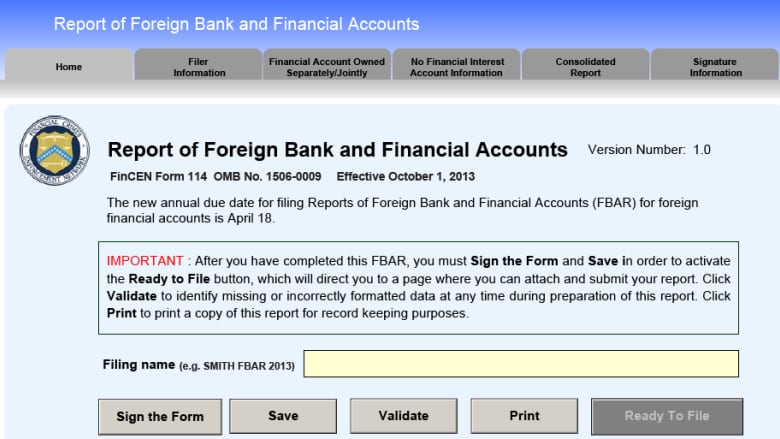 Us Government Suing Canadian Resident For 11m Over Bank Form