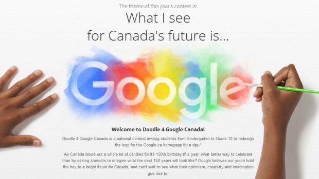 Google Canada has pegged this year's Doodle 4 Google student contest to Canada's 150th birthday.