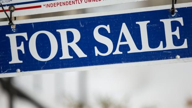 Toronto Real estate sign taken in Toronto, Ontario in February 2014.