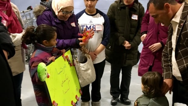 A Syrian family of five finally arrived in Timmins on Friday.