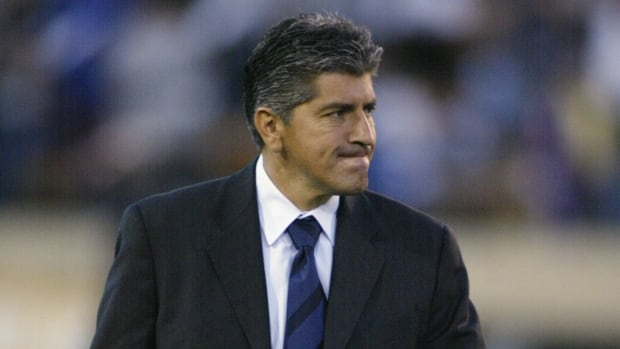 Octavio Zambrano was introduced as the new head coach of the Canadian men's soccer team at an announcement in Toronto on Friday.