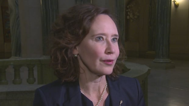 Minister of Education Bronwyn Eyre said she was not proposing that treaty teachings be removed from elementary schools when she brought it up in a legislature speech.