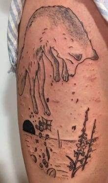 mackenzie zouboules tattoo