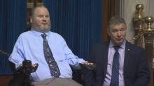 Steven Fletcher and Rick Hansen