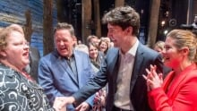 Justin Trudeau Come From Away NYC