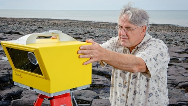 NSCC's Tim Webster is using LIDAR to get a highly accurate picture of Nova Scotia's coastline and tidal region.