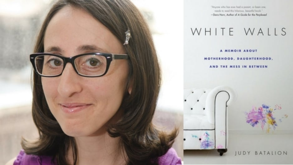 The author of the memoir White Walls had a high school job as a muffin server in Montreal.