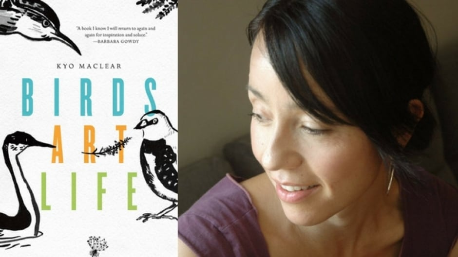 Maclear found inspiration and peace by observing birds in Toronto.