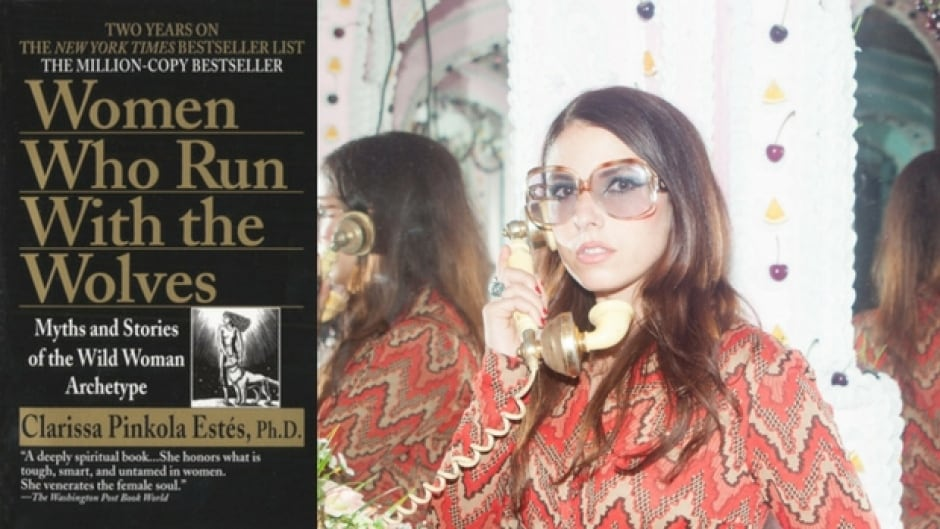 Musician Jessica Maros is reading Clarissa Pinkola Estés' classic bestseller Women Who Run With the Wolves.