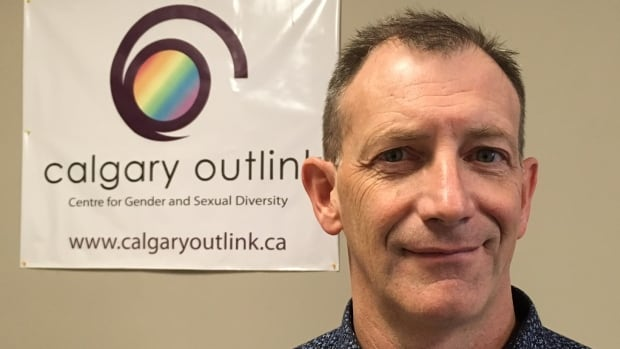 Calgary Outlink executive director Kelly Ernst says the new LGBTQ+ New Canadians Resiliency Project has been attracting roughly one new client per day since it began in February.