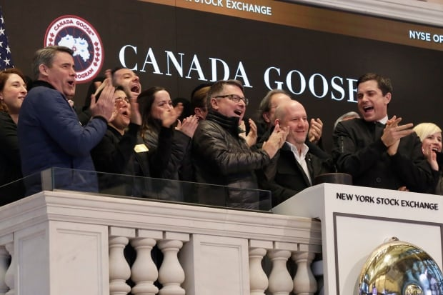 Financial Markets Wall Street Canada Goose IPO