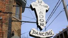 Toronto Matador Club Sign