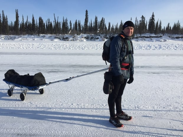 Roddy Riddle on the Tuk ice road