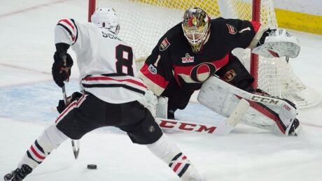 Blackhawks Snag Late Power-play Winner To Clip Senators (video)
