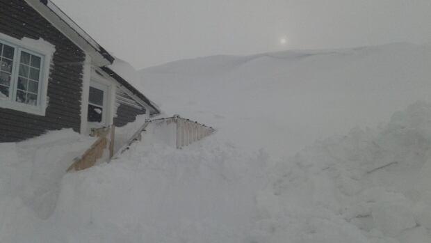 Port au Choix snow house