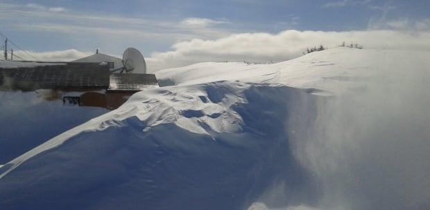 Port au Choix snow