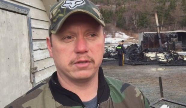 Bay de Grave Regional Fire Department Chief Jim Edmunds
