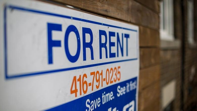Toronto rental sign