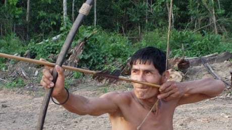 Tsimane hunter
