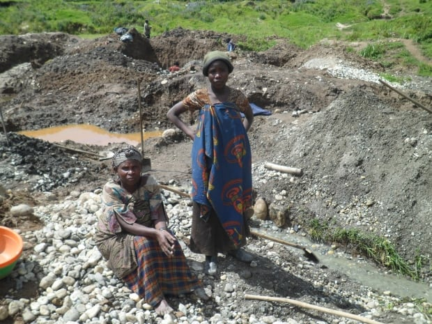 Eastern Democratic Republic of Congo artisanal mining