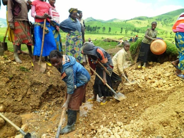 Eastern DRC mining child labour
