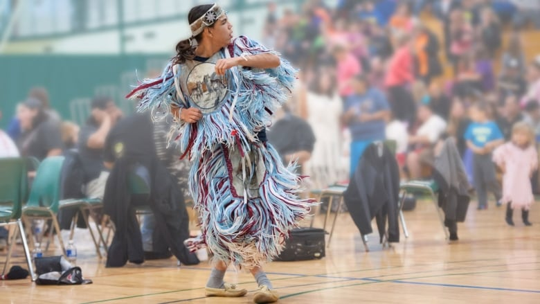 Indigenous dancer