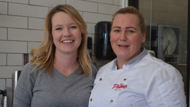 Prime Gelato owner Anne-Marie Calonego and executive chef Sandra Henderson are celebrating the fact that they've acquired a new license which allows the gelato to be sold in other stores. Acquiring the license has been a goal since before the gelato shop opened, said Calonego.