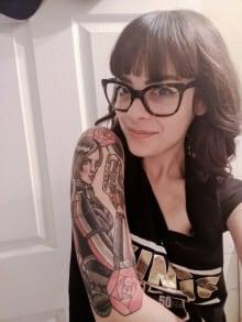 Meg Smitherman Mass Effect tattoo